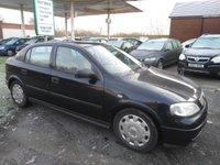 2003 VAUXHALL ASTRA 2.0 LS DTI 16V 5d 100 BHP £595.00