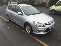 USED 2010 60 HYUNDAI I30 1.6 COMFORT CRDI 5d 113 BHP THIS IS A NICE FAMILY ESTATE CAR WHICH IS FITTED WIT A 6 SPEED GEARBOX ,THIS CAR ALSO COMES WITH A AUX PORT/USB PORT AND A HEATED FRONT AND REAR SCREEN IT ALSO HAS AIRCON FULL ELECTRIC WINDOWS AND ISOFIX FRIENDLY SEATS .