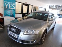 USED 2008 08 AUDI A6 3.0 TDI QUATTRO SE TDV 5d AUTO 229 BHP Only 3 private owners.  This A6 is finished in metallic grey with alcantara & leather tim and anthracite wheels. It is fitted with power steering, Electric sunroof, remote locking, climate control, cruise control, electric windows and mirrors with power fold, front and rear parking sensors, Audi Media interface, storage pack, Sat Nav, Bluetooth, CD Stereo, alloy wheels and more,  and comes with a full service history with receipts, part Audi & part specialist.