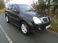 2011 SSANGYONG REXTON 2.7 270 SPR 5d AUTO 184 BHP £9495.00