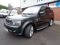 USED 2009 59 LAND ROVER RANGE ROVER SPORT 3.0 TDV6 HSE 5d AUTO 245 BHP 2010 MY