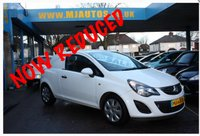 USED 2013 63 VAUXHALL CORSA 1.3 CDTI ECOFLEX S/S 93 BHP Choice of 5 Corsa Vans available....