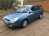2001 FORD FOCUS 2.0 GHIA 5d 129 BHP £1000.00