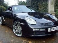 2005 PORSCHE BOXSTER 2.7 24V 2d 240 BHP £9499.00