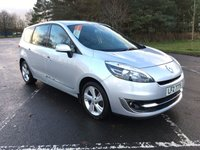 USED 2012 RENAULT SCENIC 1.5 GRAND DYNAMIQUE TOMTOM ENERGY DCI S/S 5d 110 BHP EXCELLENT CONDITION THROUGHOUT, DEALER HISTORY