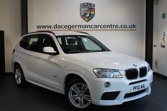 2012 BMW X3 2.0 XDRIVE20D M SPORT 5DR AUTO 181 BHP £18470.00
