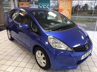 2011 HONDA JAZZ 1.3 I-VTEC ES 5d 98 BHP £4995.00