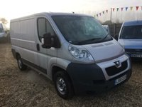 USED 2010 10 PEUGEOT BOXER PROFESSIONAL SWB