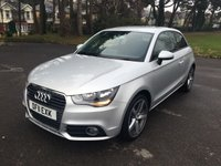 USED 2011 11 AUDI A1 1.2 TFSI SPORT 3d 84 BHP LOVELY LOOKING SPORTS A1 WITH THE EXCELLENT 1.2 TFSI ENGINE THAT COMBINES FUN DRIVING WITH EXCELLENT FUEL ECONOMY CHEAP TAX AND INSURANCE