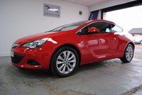 2013 VAUXHALL ASTRA 1.4 GTC SRI S/S 3d 138 BHP £7995.00