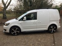 USED 2012 62 VOLKSWAGEN CADDY 1.6 C20 TDI 102 5d 101 BHP NEW 18 INCH ALLOYS TYRES HIGH SPEC