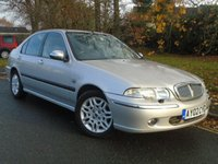 2002 ROVER 45 2.0 CONNOISSEUR TD 4d 100 BHP £495.00