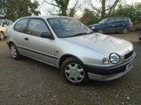 1999 TOYOTA COROLLA 1.3 16V 3d 87 BHP £495.00