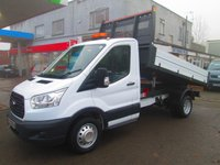 2014 FORD TRANSIT One Stop Tipper 2.2 TDCi 125 BHP 6 Speed MWB*12,000 Miles* £17995.00