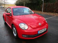 2014 VOLKSWAGEN BEETLE 1.6 DESIGN TDI BLUEMOTION TECHNOLOGY 3d 104 BHP £10995.00