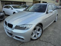 USED 2011 60 BMW 3 SERIES 2.0 318I M SPORT TOURING 5d 141 BHP Excellent Condition, Low Rate Finance Available, No Fees Finance