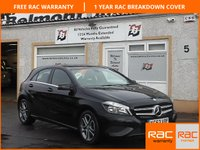 USED 2013 63 MERCEDES-BENZ A CLASS 1.8 A200 CDI BLUEEFFICIENCY SPORT 5d 136 BHP 1 Owner