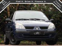 2005 RENAULT CLIO 1.1 RUSH AUTHENTIQUE 8V 3d 58 BHP £990.00