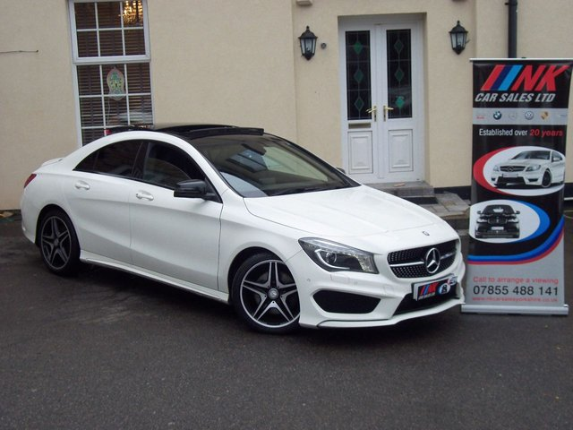2013 13 MERCEDES-BENZ CLA 2.1 CLA220 CDI AMG SPORT ** SOLD DELVERING TO ROTHERHAM**