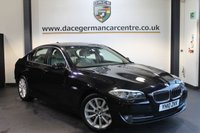USED 2010 10 BMW 5 SERIES 3.0 530D SE 4DR AUTO 242 BHP + FULL SERVICE HISTORY + FULL CREAM LEATHER INTERIOR + PRO SATELLITE NAVIGATION + HEATED ELECTRIC SEATS + BLUETOOTH +  CRUISE CONTROL + PARKING SENSORS + 18 INCH ALLOY WHEELS +