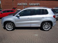 USED 2010 59 VOLKSWAGEN TIGUAN 2.0 R LINE TDI 4MOTION 5d AUTO 138 BHP PAN ROOF+LEATHER+19INC ALLOYS+PRIVACY GLASS+NAV