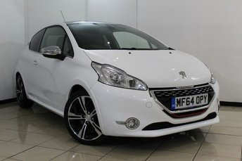 2015 PEUGEOT 208 1.6 THP GTI LIMITED EDITION 3DR 200 BHP £11970.00