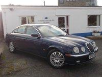 2002 JAGUAR S-TYPE 4.2 V8 SE 4d AUTO 300 BHP £3495.00