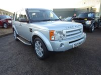 USED 2009 09 LAND ROVER DISCOVERY 2.7 3 TDV6 HSE 5d AUTO 188 BHP 5 SERVICE STAMPS,2 KEYS,SATELITTE NAVIGATION,7 SEATS
