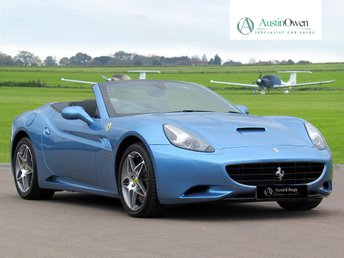 2009 FERRARI CALIFORNIA 4.3 2 PLUS 2 2d 460 BHP £86990.00