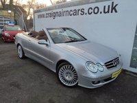 2008 MERCEDES-BENZ CLK 3.5 CLK350 AVANTGARDE 2d AUTO 269 BHP £9995.00