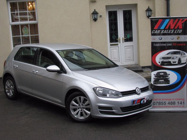2013 62 VOLKSWAGEN GOLF 1.6 SE TDI BLUEMOTION TECHNOLOGY 5d **NEW SHAPE SOLD CHERYL AND CRAIG FROM DONCASTER
