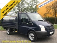 USED 2017 63 FORD TRANSIT 100 T300 SWB Dropside+Tailift Alloy body Low Mileage Ex Lease SRW Delivery TBA 2013 / 63 Ford Transit 100 T300s Dropside / Pickup+ Tailift 10ft Alloy body SRW 2.2Tdci 6 speed Rwd