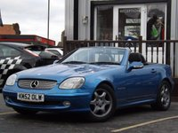 USED 2002 52 MERCEDES-BENZ SLK 2.3 SLK230 KOMPRESSOR 2d 197 BHP SUPERB EXAMPLE FOR YEAR.