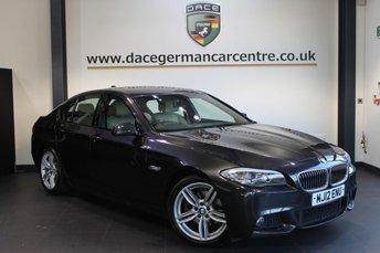 2012 BMW 5 SERIES 2.0 520D M SPORT 4DR AUTO 181 BHP £14670.00