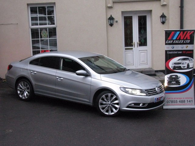 2013 13 VOLKSWAGEN CC 2.0 GT TDI BLUEMOTION TECHNOLOGY 4d 138 BHP LEATHERS SAT NAV HEATED SEATS RESERVED FOR CUSTOMER