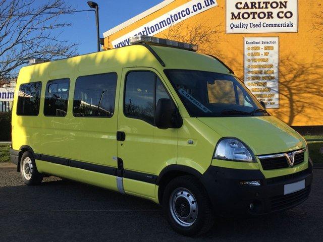 2008 58 VAUXHALL MOVANO LM35 CDTi Ambulance / Minibus Wheelchair