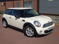 2012 MINI HATCH ONE 1.6 One D 3dr £7450.00