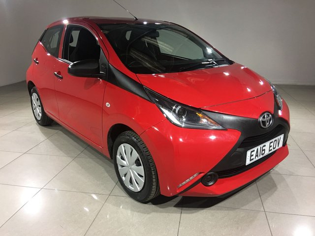 View our 2016 16 TOYOTA AYGO 1.0 VVT-I X 5d