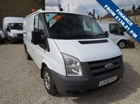 2008 FORD TRANSIT 85T 300  Ex-BT FULLY RACKED SWB LOW ROOF VAN WITH TWIN SIDE DOORS £5350.00