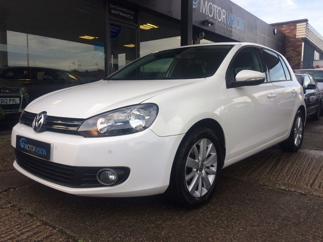 2011 61 VOLKSWAGEN GOLF 1.6 MATCH TDI BLUEMOTION TECHNOLOGY 5d 103 BHP