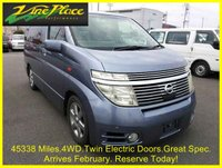 2004 NISSAN ELGRAND Highway Star 3.5 Automatic 8 Seats 4 Wheel Drive £9000.00