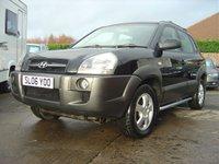 2006 HYUNDAI TUCSON 2.0 GSI DRTD 4WD 5d 138 BHP £SOLD