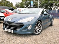 USED 2010 10 PEUGEOT RCZ 2.0 HDI GT 2d 163 BHP FULL LEATHER SEATS + DOOR CARDS