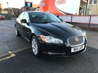 USED 2011 11 JAGUAR XF 3.0 V6 LUXURY 4d AUTO 240 BHP Full Service History,Leather Interior, Sat-Nav, Automatic, Diesel.
