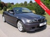 USED 2005 05 BMW 3 SERIES 2.5 325CI SPORT 2d AUTO 190 BHP
