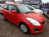 USED 2014 14 SUZUKI SWIFT 1.2 SZ2 3d 94 BHP FULL SERVICE HISTORY,ONE OWNER FROM NEW.