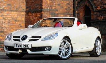 2010 MERCEDES-BENZ SLK 1.8 SLK200 KOMPRESSOR 2d AUTO 184 BHP £SOLD