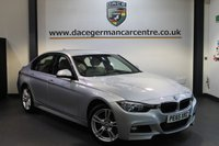 USED 2015 65 BMW 3 SERIES 3.0 335D XDRIVE M SPORT 4DR AUTO 308 BHP + FULL CREAM LEATHER INTERIOR + 1 OWNER FROM NEW + BUSINESS SATELLITE NAVIGATION + HEATED SPORT SEATS + BLUETOOTH + CRUISE CONTROL + M APORT PACKAGE + PARKING SENSORS + 18 INCH ALLOY WHEELS +