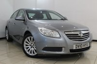 USED 2010 10 VAUXHALL INSIGNIA 2.0 SE CDTI 4DR 157 BHP MULTI FUNCTION WHEEL + BLUETOOTH + CLIMATE CONTROL + CRUISE CONTROL + ALLOY WHEELS