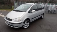 2002 FORD GALAXY 1.9 GHIA TURBO 5d 89 BHP £2795.00